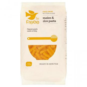 Doves Farm Gluten Free Organic Maize & Rice Fusilli Pasta - 500g
