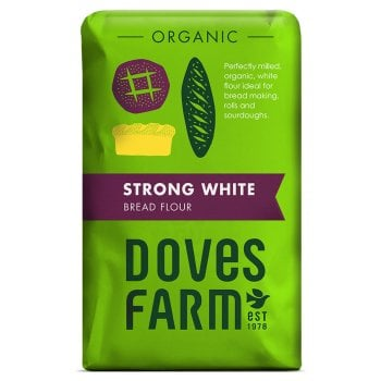 Doves Farm Organic Strong White Bread Flour - 1.5kg