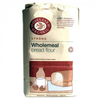Doves Farm Organic Wholewheat Strong Flour 1.5Kg
