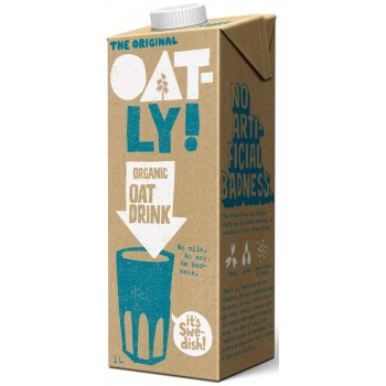 Oatly Organic Oat Milk Alternative - Classic 1l