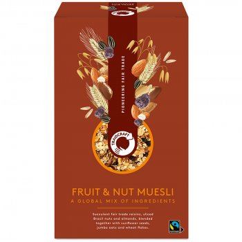 Traidcraft Fruit and Nut Muesli - 500g