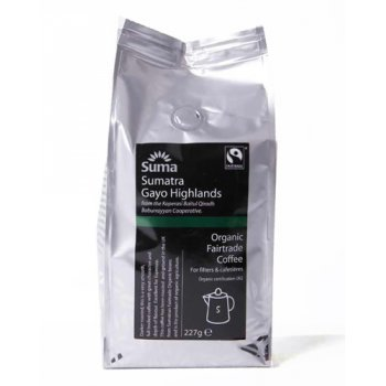 Suma Fair Trade Sumatra Ground Coffee 227g