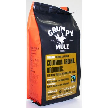 Grumpy Mule Organic Colombia Cafe Equidad Ground Coffee 227g
