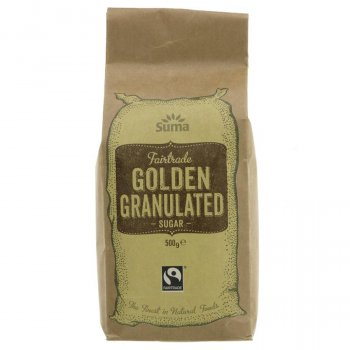 Suma Fairtrade Golden Granulated Sugar - 500g