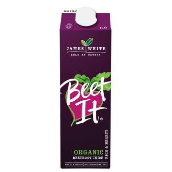 James White Beet It Organic Beetroot Juice - 1L