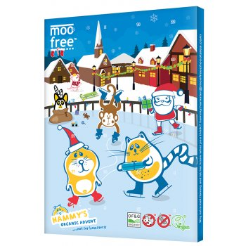 Moo Free Dairy Free Milk Chocolate Advent Calendar - 100g