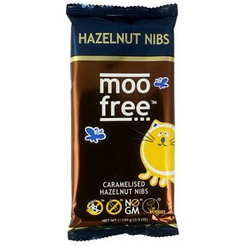 Moo Free Dairy Free Caramelised Hazelnut Chocolate Bar 100g