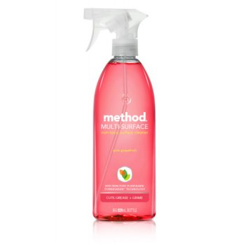 Method Multi Surface Spray - Pink Grapefruit - 828ml