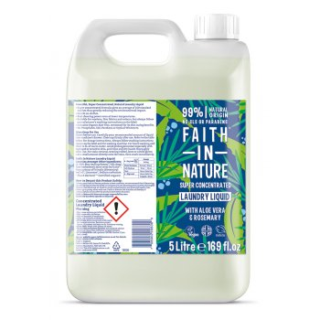 Faith in Nature Non-Bio Superconcentrated Laundry Liquid - 5 litre