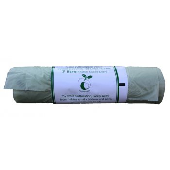 Compostable Bin Liner 7 Litre 50 on a Roll