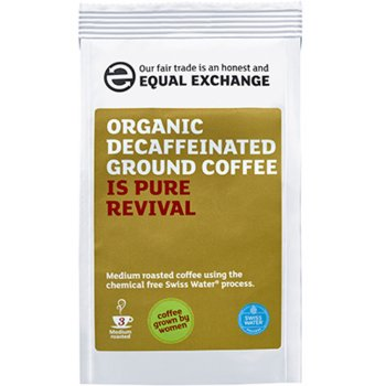 Equal Exchange Organic Decaffeinated Ground Coffee - 227g