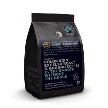 Equal Exchange Organic Colombian Roast & Ground Coffee - 227g