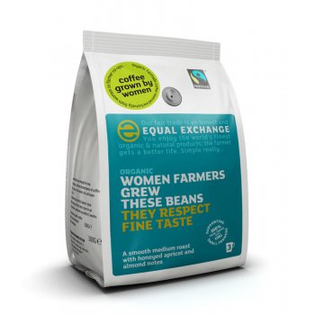 Equal Exchange Farmers Blend Whole Beans Coffee - 227g