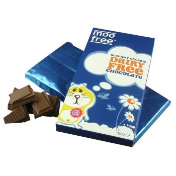 Moo Free Dairy Free Organic Milk Chocolate Bar 100g