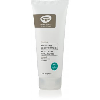 Green People Scent Free Bath & Shower Gel - 200ml