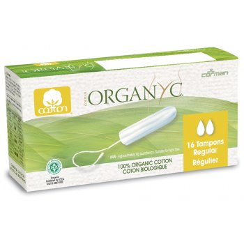 Organyc Regular Tampons - Pack of 16