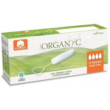 Organyc Super Plus Tampons - Pack of 16