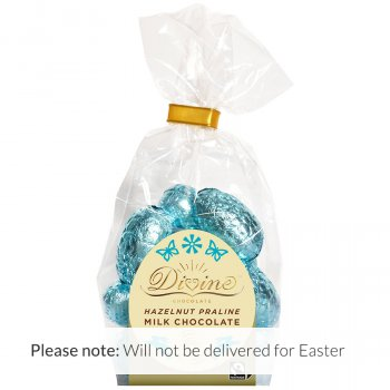 Divine Milk Chocolate Hazelnut Praline Eggs - 156g