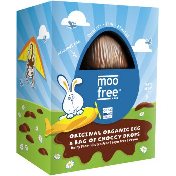 Moo Free Organic & Dairy Free Easter Egg with Buttons - 125g