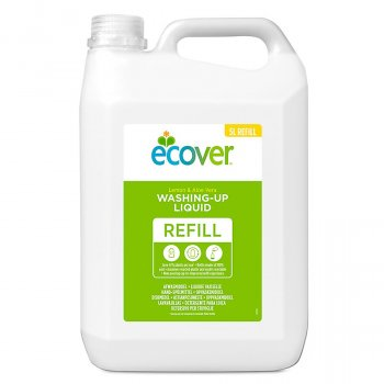 Ecover Lemon & Aloe Vera Washing Up Liquid Refill - 5L