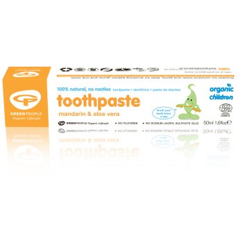 Green People Childrens Mandarin Toothpaste 50ml