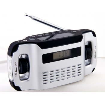 PowerPlus Lynx Dynamo & Solar powered Radio & Flashlight