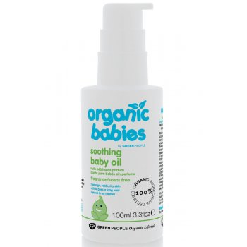 Green People Soothing Baby Oil 100ml