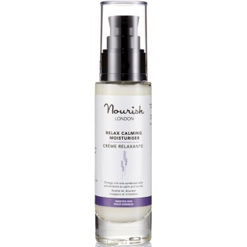 Nourish London Relax Calming Lavender Moisturiser 50ml