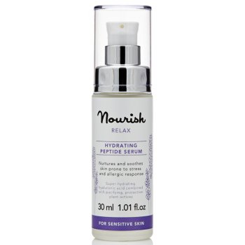 Nourish London Relax Hydrating Lavender Peptide Serum 30ml