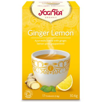 Yogi Ginger Lemon Tea x 17 Bags