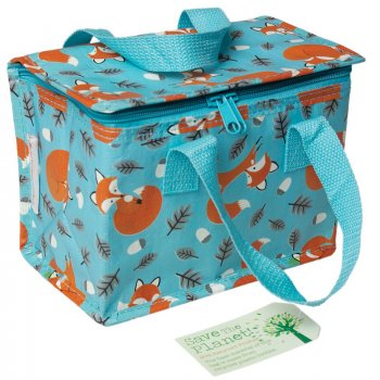 Recycled Lunch Bag Rusty The Fox