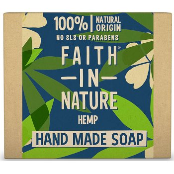 Faith in Nature Hemp with Lemongrass & Green Tea Soap - 100g