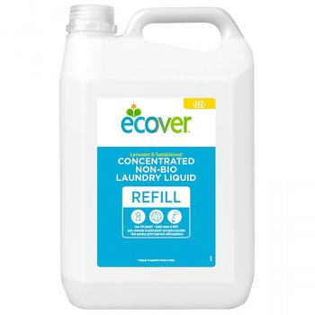 Ecover Non-Bio Concentrated Laundry Liquid Refill - Lavender & Sandalwood - 142 Washes - 5L