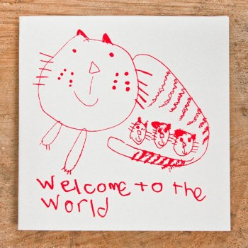 ARTHOUSE Unlimited Charity Welcome to the World Card