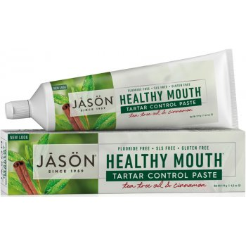 Jason Healthy Mouth  Antiplaque & Tartar Control Toothpaste - 122g