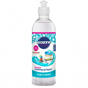 Ecozone Washing Up Liquid Sensitive 500ml