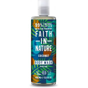 Faith in Nature Shower Coconut Body Wash - 400ml