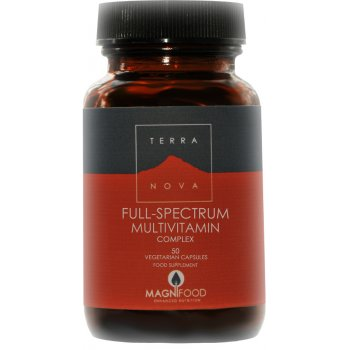 Terranova Full-Spectrum Multivitamin Complex - 50caps