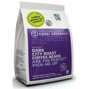 Equal Exchange Dark Roast Organic Coffee Beans 227g