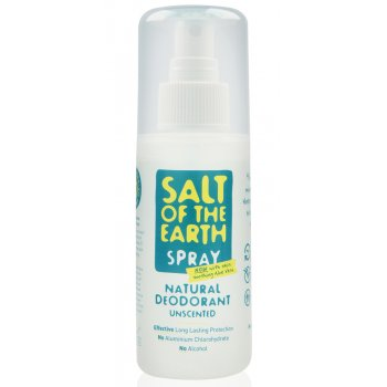 Salt of The Earth Crystal Spring Natural Deodorant Spray - 100ml