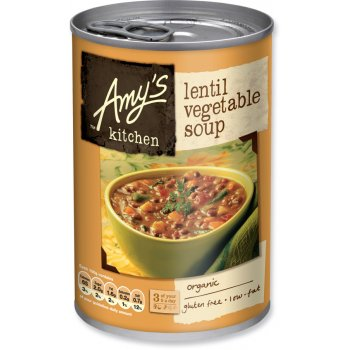 Amys Kitchen Lentil Vegetable Soup - 400g