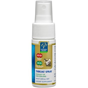 Manuka Health Propolis and Manuka Honey Throat Spray - 20ml