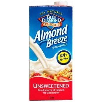 Blue Diamond Almond Breeze Milk Alternative - Unsweetened - 1L