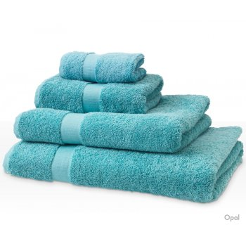 Natural Collection Organic Cotton Guest Towel - Opal