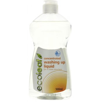 Ecoleaf Concentrated Wash Up Liquid - 500ml
