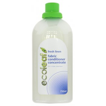 Ecoleaf Concentrated Fabric Conditioner - Fresh Linen - 750ml