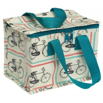 Bicycle Riders Design Recycled Lunch Bag