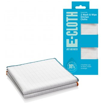 E-Cloth Wash & Wipe Kitchen Cloths