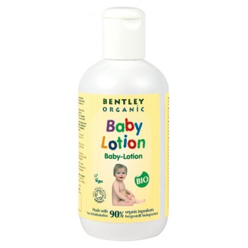 Bentley Organic Baby Lotion with Chamomile, Aloe Vera & Natural Vitamin - 250ml