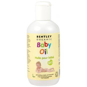 Bentley Organic Organic Baby Oil with Sunflower, Jojoba & Chamomile - 250ml